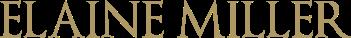 Elaine Miller Design Logo